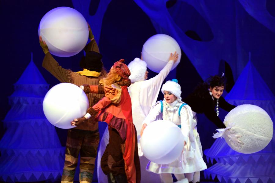 """""""Новогодние чудеса"""" - детская музыкальная сказка - Культшоу"""