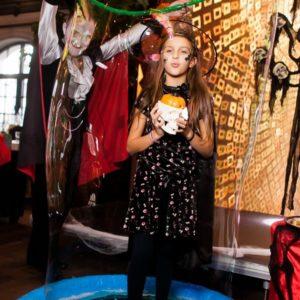 Halloween bubble show - Кульшоу