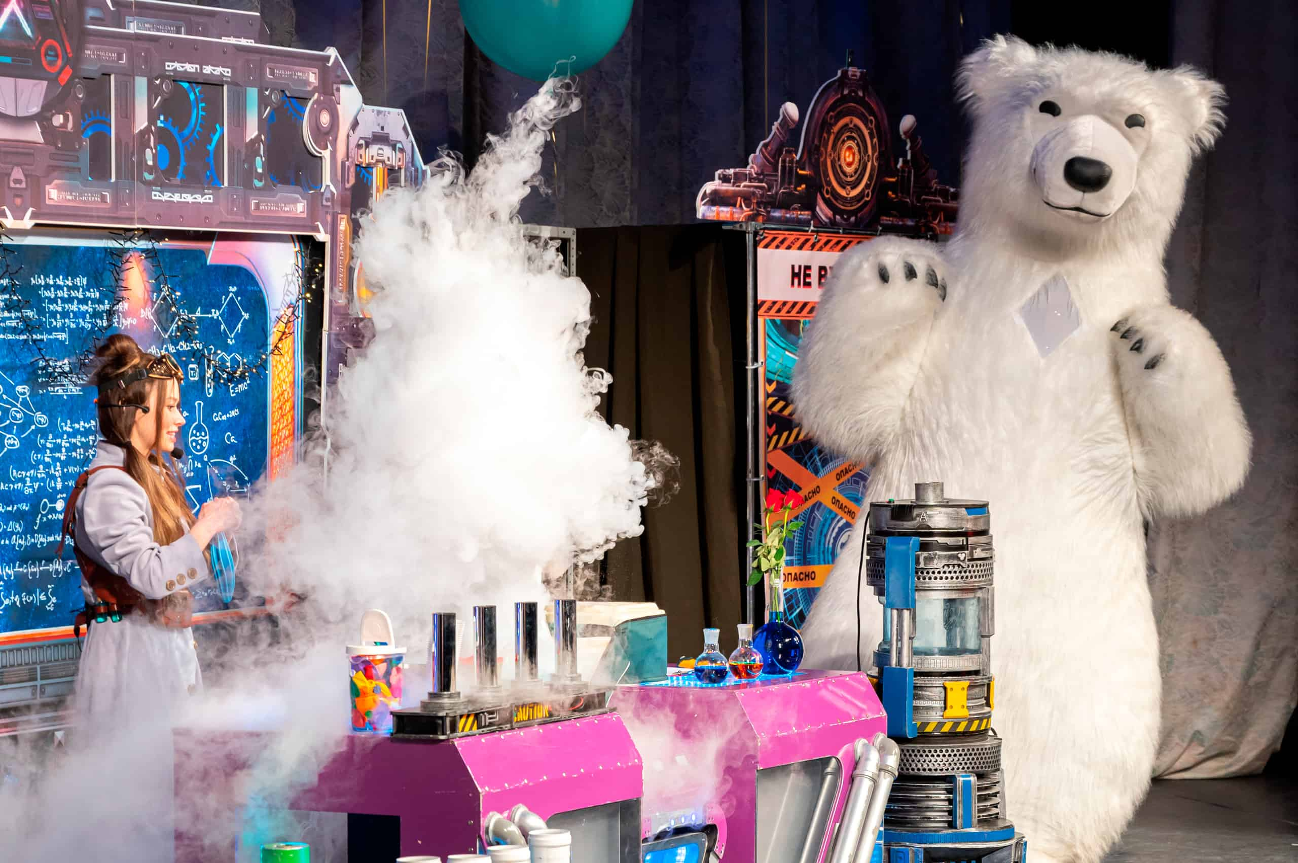 Тайна ледяного дракона - детское шоу- Культшоу